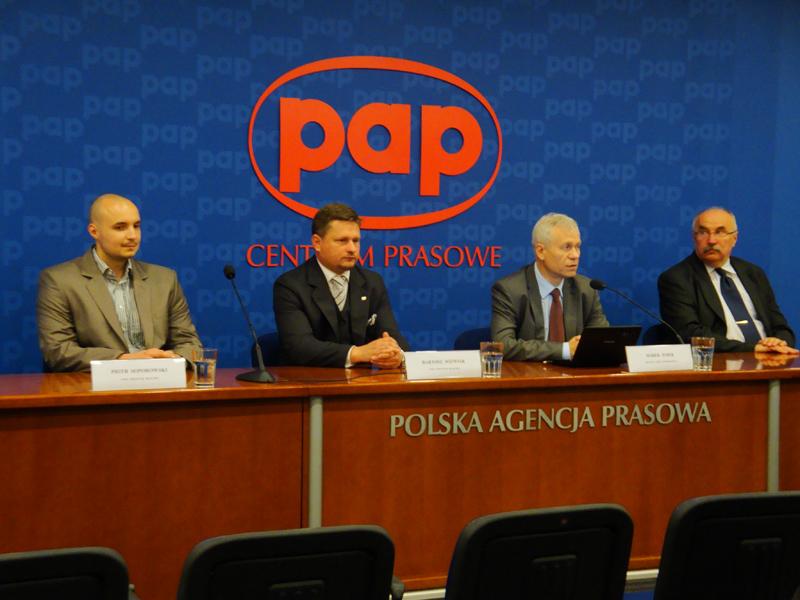Konferencja prasowa KW Prawica